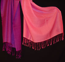 pashmina shawl with ombre dying-3
