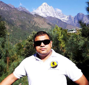 Dr. Dhananjay Regmi, CEO of Himlayan Research Expeditions