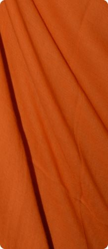 Sunrise Pashmina (VIS #414) Mandarin Orange medium-size pumori shawl