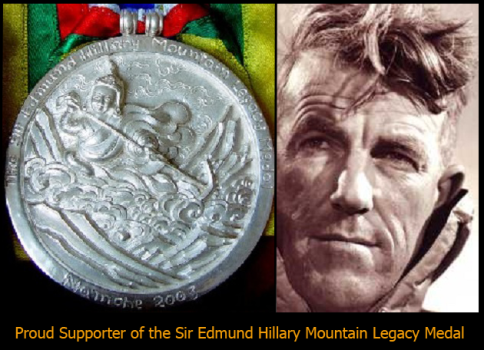 support the Hillary Medal