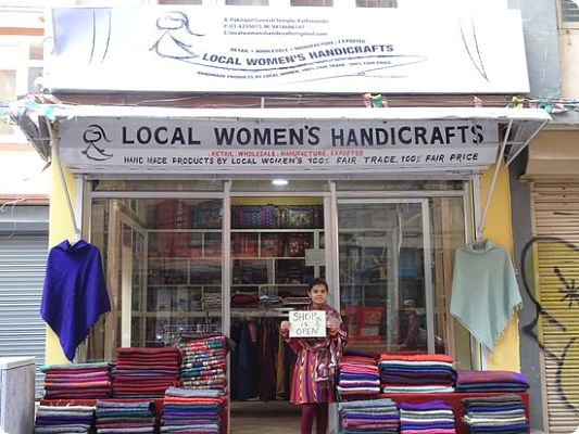 Sunrise Pashmina Shawls From Local Womens Handicrafts