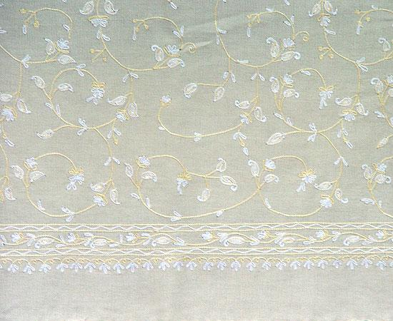 Kanya Devi full-surface embroidery. Click on the picture to see a larger sample